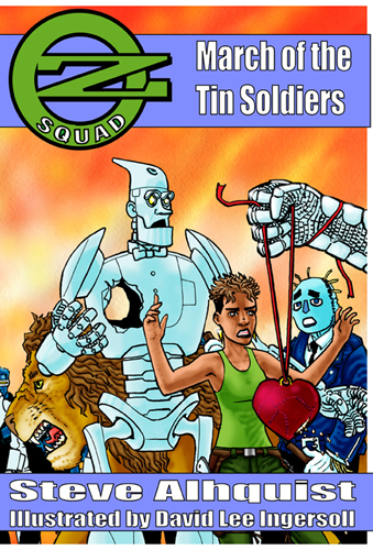 Cover for Oz Squad: March of the Tin Soldiers