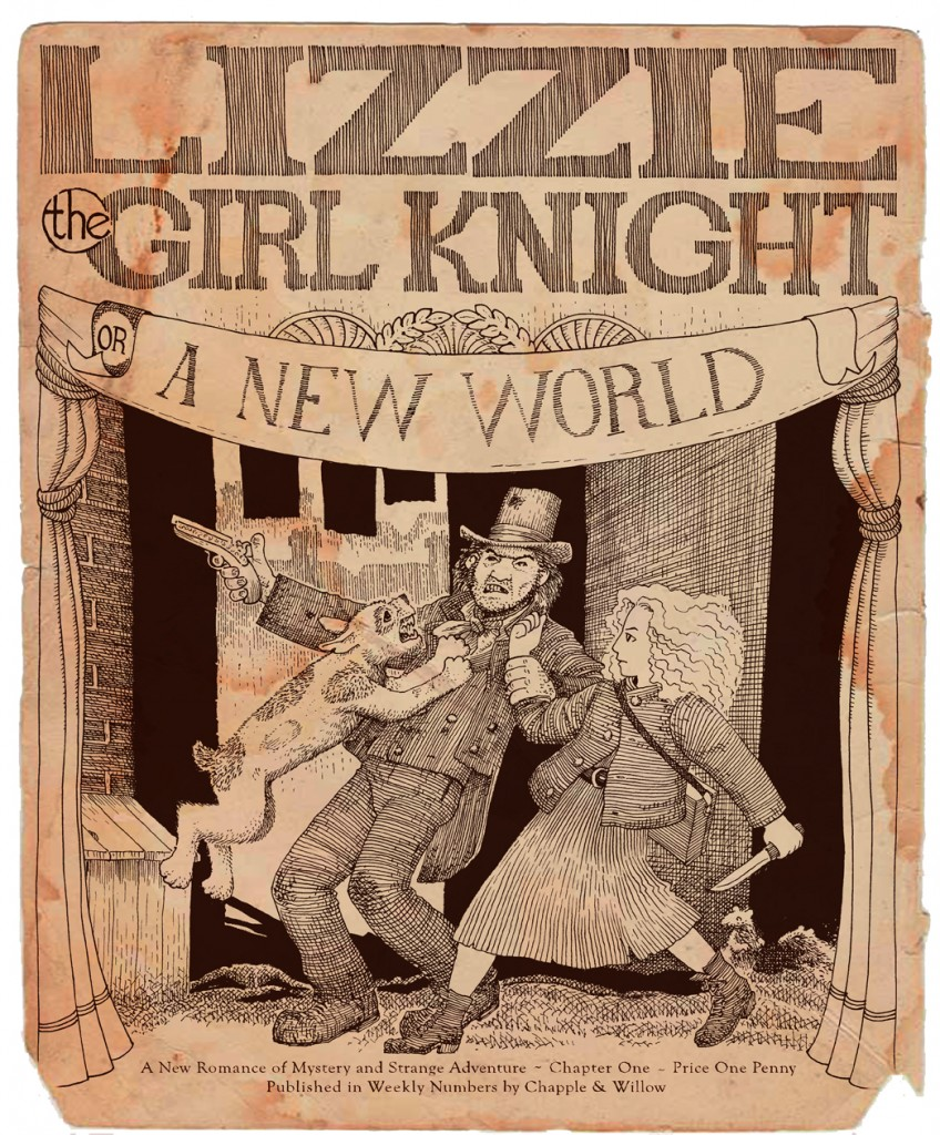 Cover for Lizzie Chapter One