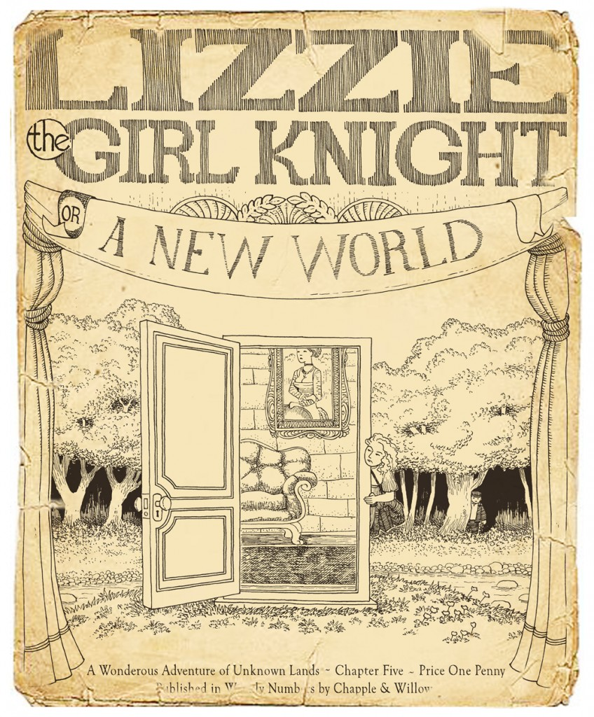 Lizzie Chapter 5 Cover