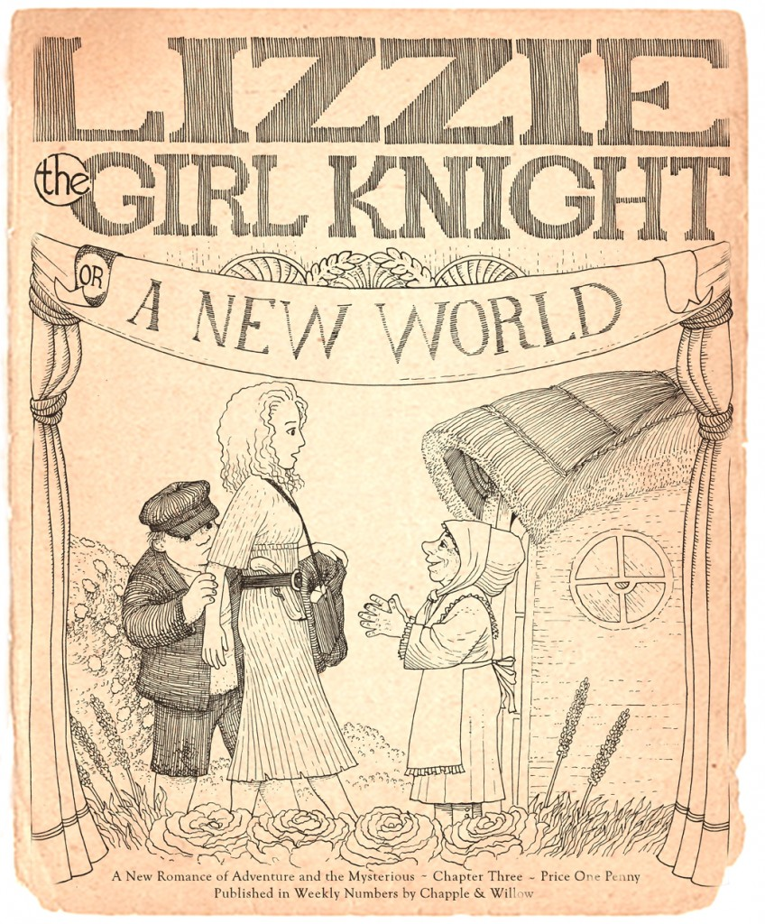 Lizzie Chapter 3 Cover
