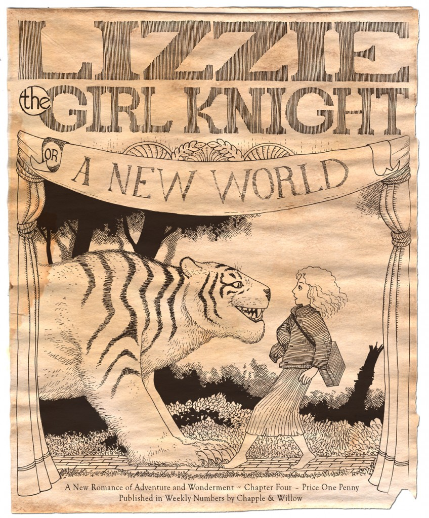 Lizzie Chapter 4 Cover